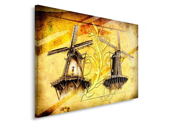 Seinätaulu Windmills 30x40 cm ED-153507