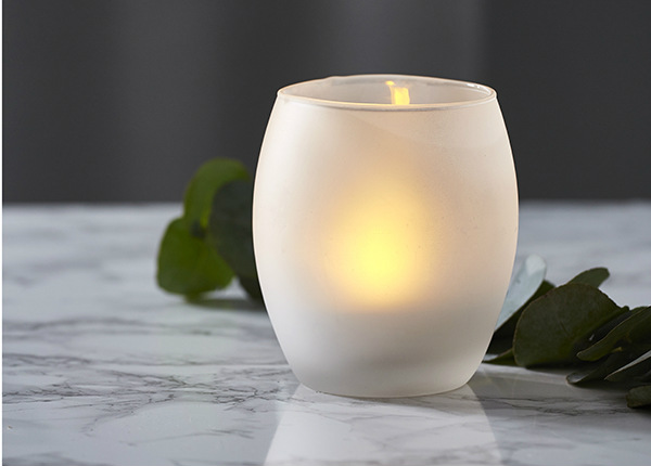 LED kynttilä Frost 10 cm