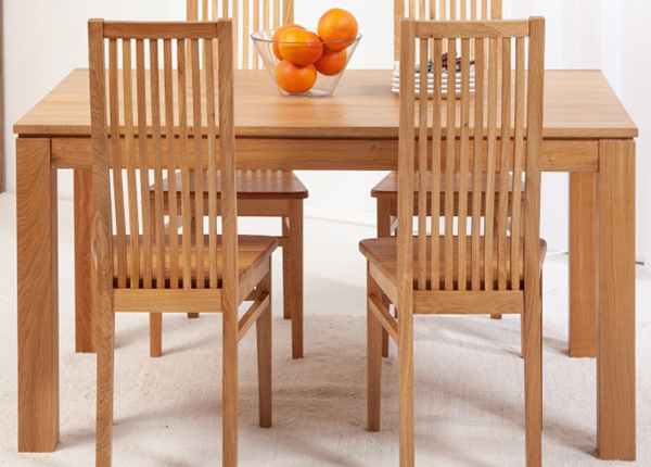 Tammi ruokapöytä London 140x90 cm EC-153820