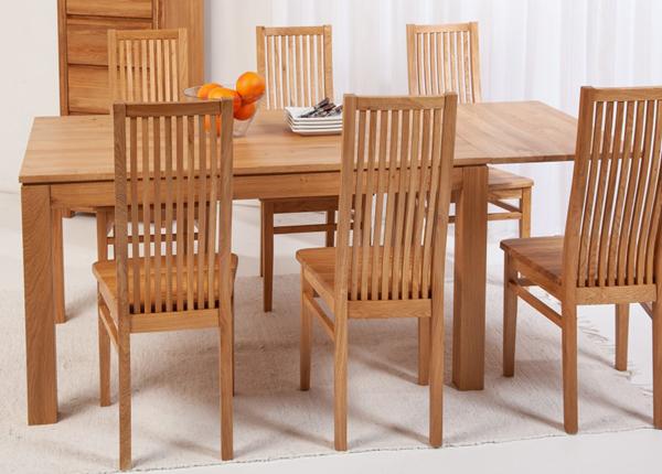 Tammi jatkettava ruokapöytä London 140-190x90 cm EC-153821