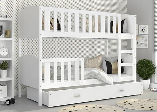 Двухъярусная кровать 90x200 cm