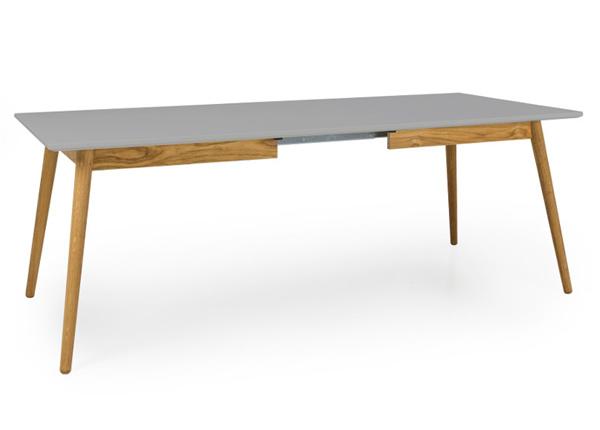 Jatkettava ruokapöytä Dot 160-205x90 cm AQ-154163