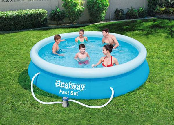 Бассейн Bestway Fast Set 366x76 см с фильтровым насосом