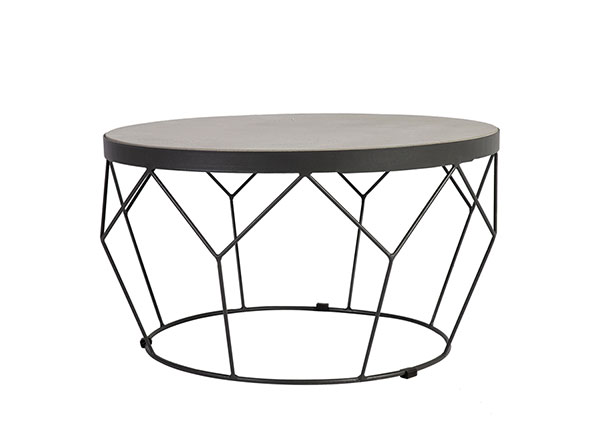 Pöytä Sandstone Ø 51 cm EV-154516