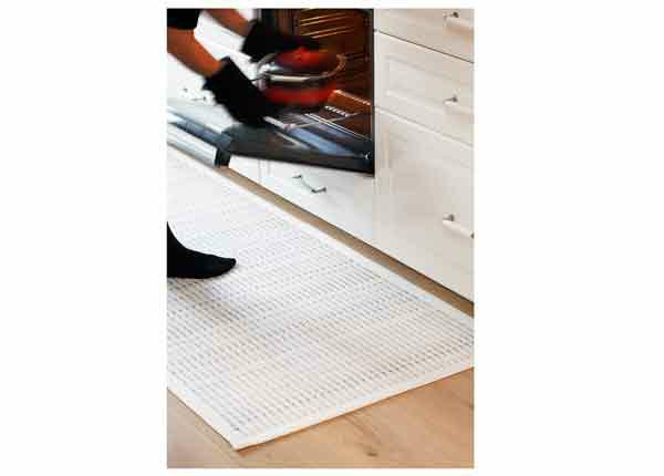 Narma smartWeave® matto Esna white 70x140 cm