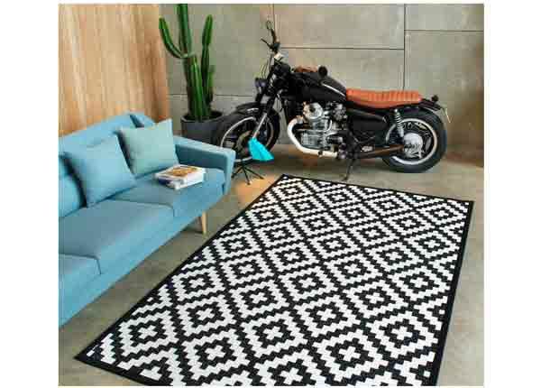Narma smartWeave® matto Viki black 160x230 cm