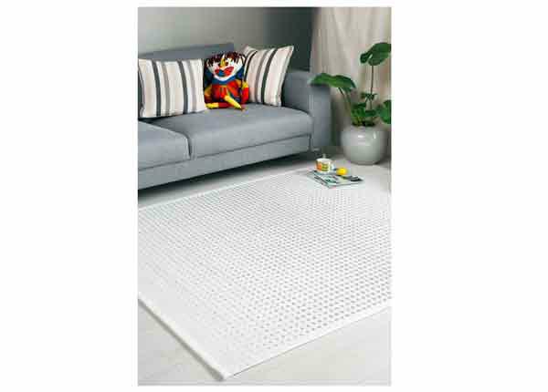 Narma smartWeave® matto Helme white 70x140 cm