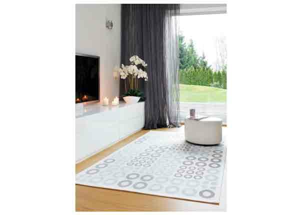 Narma smartWeave® matto Kupu white 70x140 cm