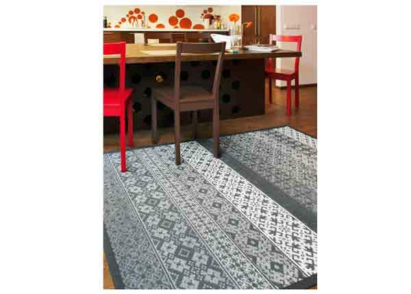 Narma smartWeave® matto Tidriku grey 70x140 cm