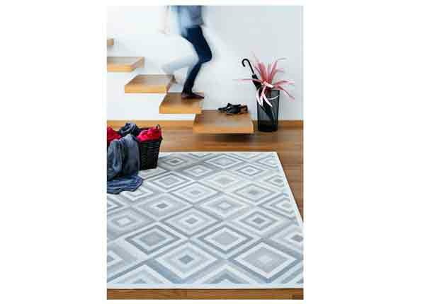 Narma smartWeave® matto Tahula white 70x140 cm