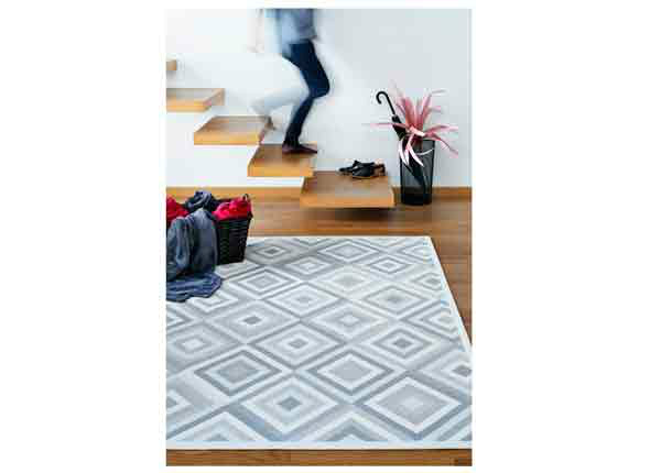 Narma smartWeave® matto Tahula white 140x200 cm