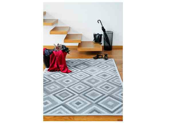 Narma smartWeave® matto Tahula silver 70x140 cm