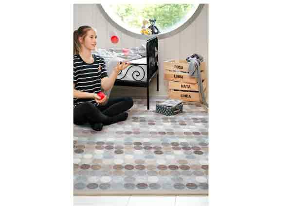 Narma smartWeave® matto Pallika beige 70x140 cm