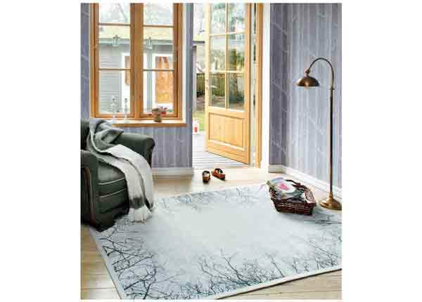 Narma smartWeave® matto Puise silver 200x300 cm