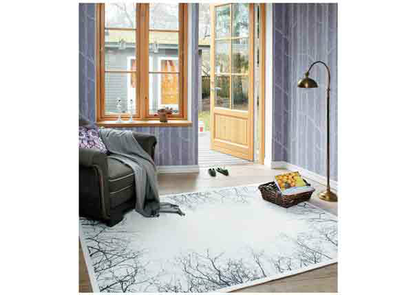 Narma smartWeave® matto Puise white 70x140 cm