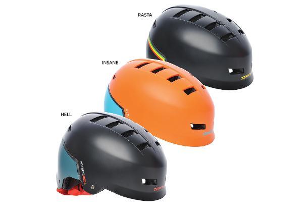 Универсальный фристайл-шлем Hybrid Tempish