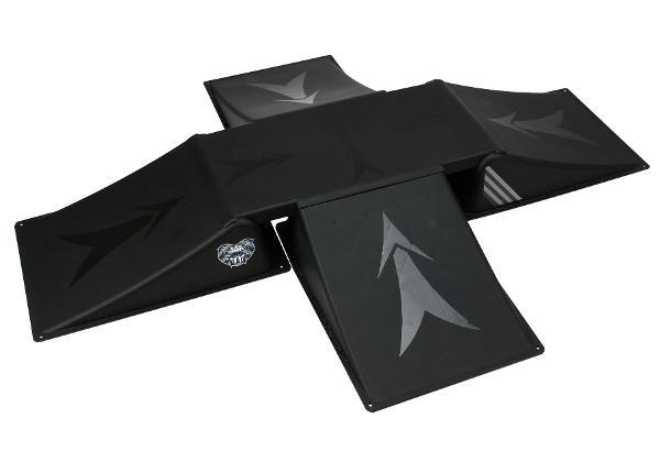 Большая рампа для самоката Black Dragon