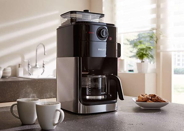 Кофеварка Philips с кофемолкой