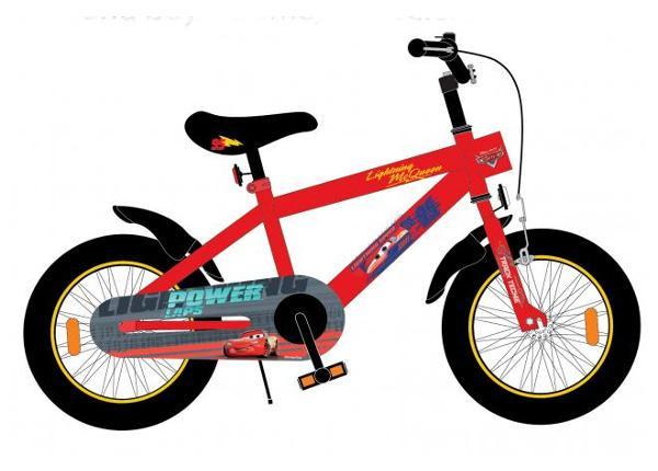 Jalgratas lastele Disney Cars 3 18 tolli TC-155461
