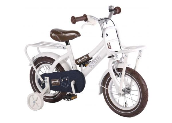 Jalgratas väikelastele Urban Jeans White 12 tolli Volare