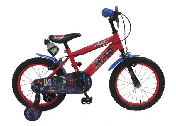 Детский велосипед Ultimate Spider-Man 16 дюймов с ручным тормозом