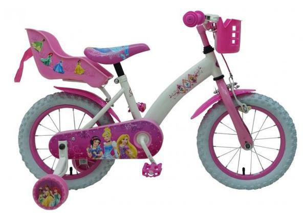 Jalgratas väikelastele 14 tolli Disney Princess