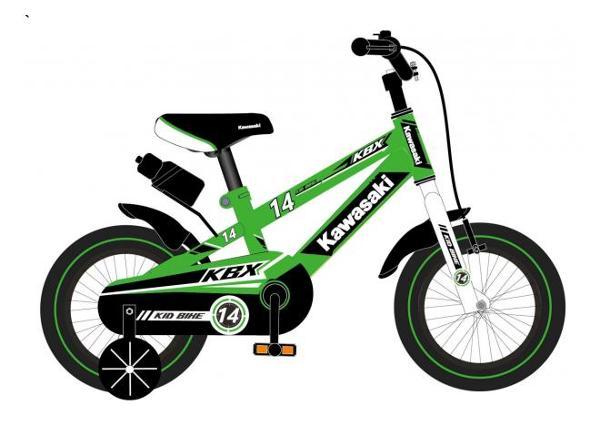 Jalgratas lastele Kawasaki 14 tolli