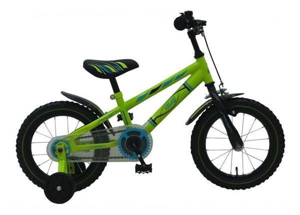 Детский велосипед Electric зеленый 14 дюймов Volare