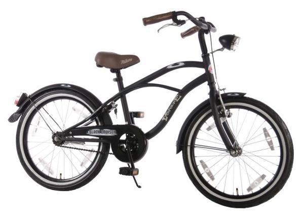 Lasten polkupyörä Black ruiser 20 tuumaa Volare