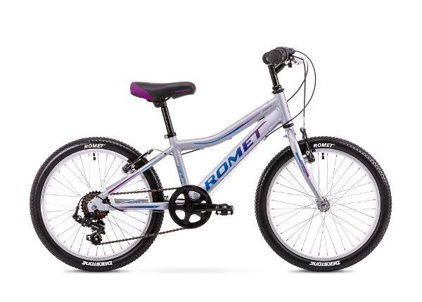 Laste jalgratas 11 S Rower ROMET JOLENE 20 KID 1 hõbe