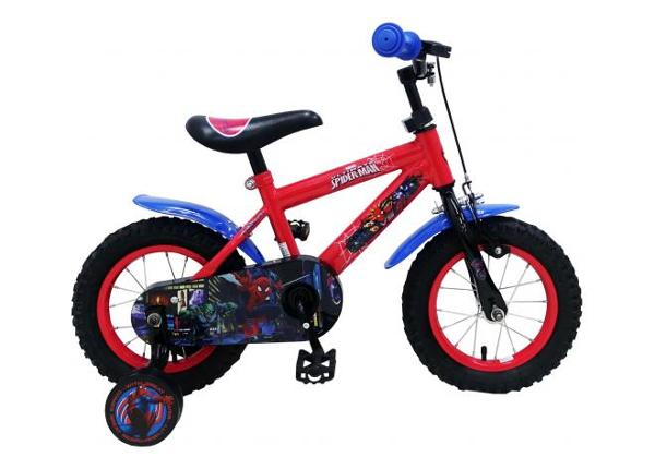 Jalgratas väikelastele 12 tolli käsipiduritega Spiderman