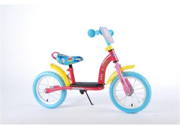Lasten potkupyörä Peppa Pig 12 tuumaa Luxe