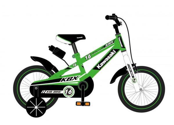 Lasten polkupyörä Kawasaki 16 tuumaa TC-155645