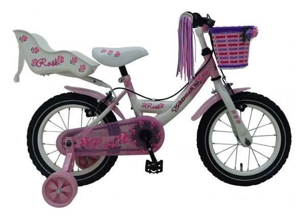 Pikkulasten polkupyörä Volare Rose 14 tuumaa