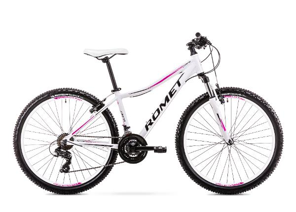 Naisten maastopyörä 15 S Rower ROMET JOLENE 6.1 valkoinen