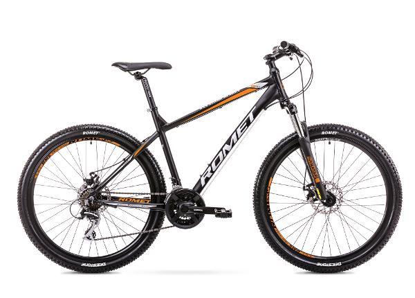 Miesten maastopyörä 21 XL Rower ROMET RAMBLER R7.1 musta