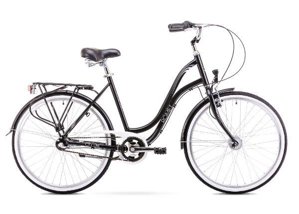 Женский городской велосипед 19 L Rower ROMET POP ART 26