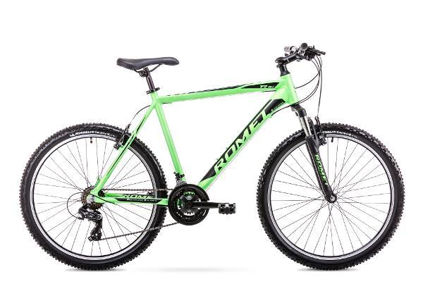 Miesten maastopyörä 17 M Rower ROMET RAMBLER R6.1 vihreä-musta