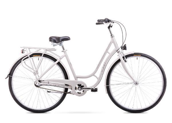 Женский городской велосипед 18 M Rower ROMET LUIZA 3S серый