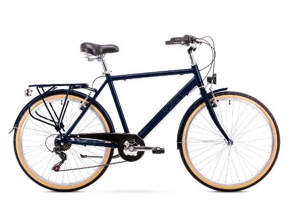 Мужской городской велосипед 20 M Rower ROMET ORION 6S темно синий