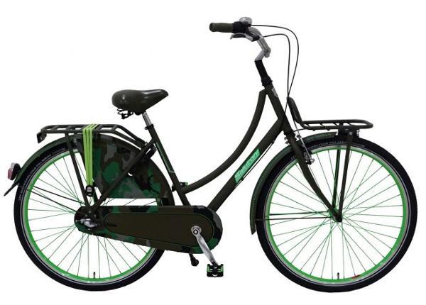 Linnajalgratas naistele SALUTONI Camouflage 28 tolli 56 cm Shimano Nexus 3 käiku TC-156068