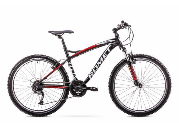 Meeste ja Noorte mägijalgratas 20 XL Rower ROMET RAMBLER FIT 26 must-punane