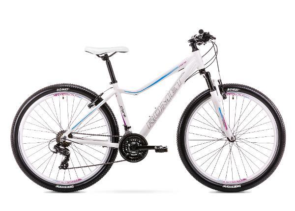 Naisten maastopyörä 15 S Rower ROMET JOLENE 7.0 LTD valkoinen