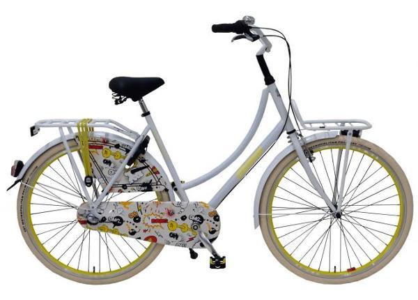 Linnajalgratas täiskasvanutele SALUTONI Cartoon 28 tolli 56 cm TC-156090