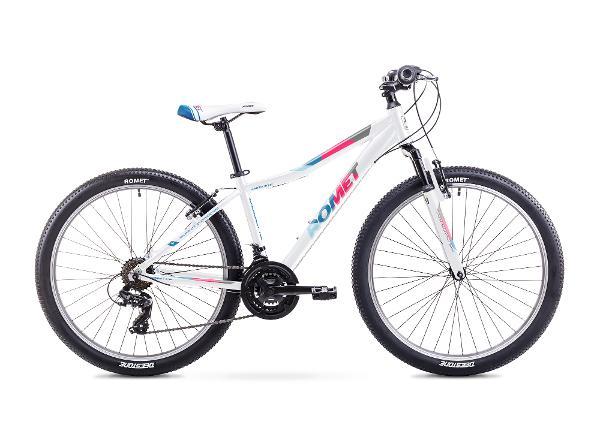 Naisten maastopyörä 19 L JOLENE 26 valkoinen-sininen