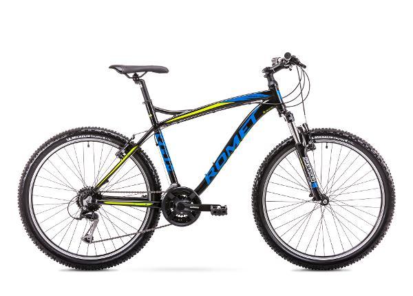 Miesten ja nuorten maastopyörä 18 L Rower ROMET RAMBLER FIT 26 musta-sininen