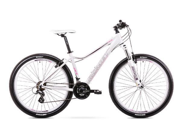 Naiste mägijalgratas 15 S Rower ROMET JOLENE 7.0 valge
