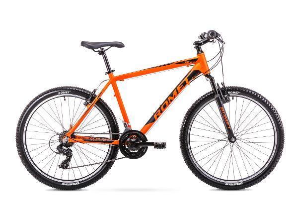 Meeste mägijalgratas 14 S Rower ROMET RAMBLER R6.0 oranž-must