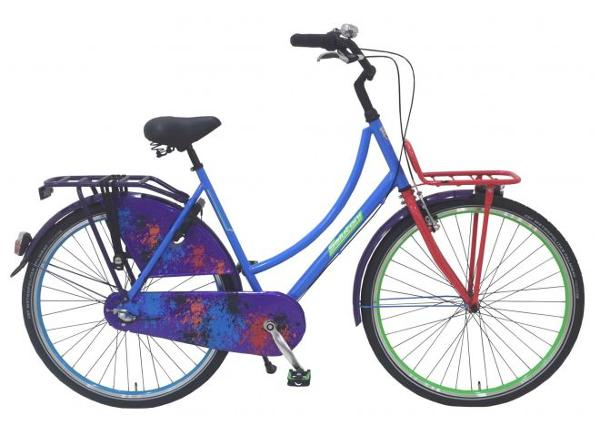 Linnajalgratas naistele SALUTONI Hurrachi 28 tolli 50 cm Shimano Nexus 3 käiku TC-156183