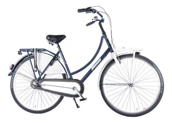 Женский городской велосипед SALUTONI Dutch oma bicycle Glamour 28 дюйма 56 см Shimano Nexus 3 передачи